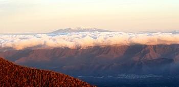 富士山から八ヶ岳