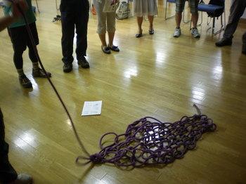 ロープ担架