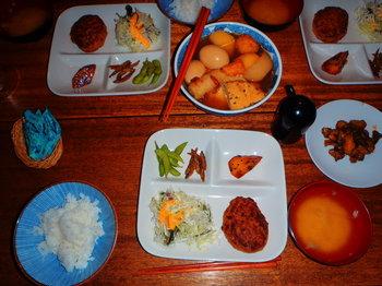 黒百合の夕食