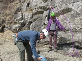 ロープ巻き方