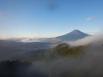 2P目終了点から富士山
