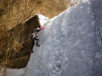 27日の三つ峠山アイス